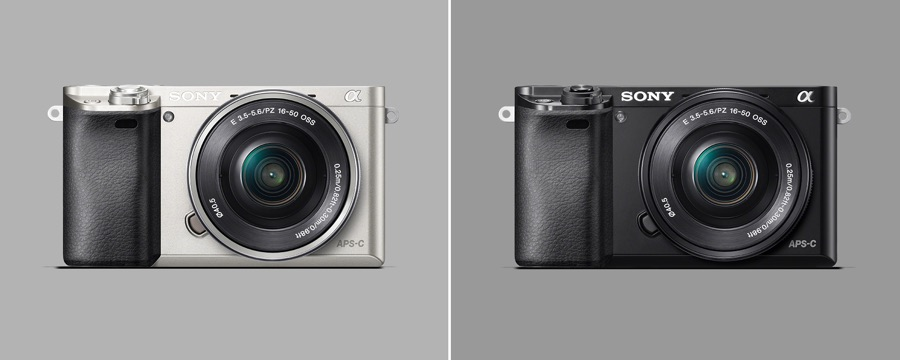 Sony A6000 en Plata y Negro