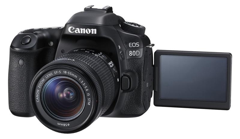 Canon 80D Pantalla Abatible