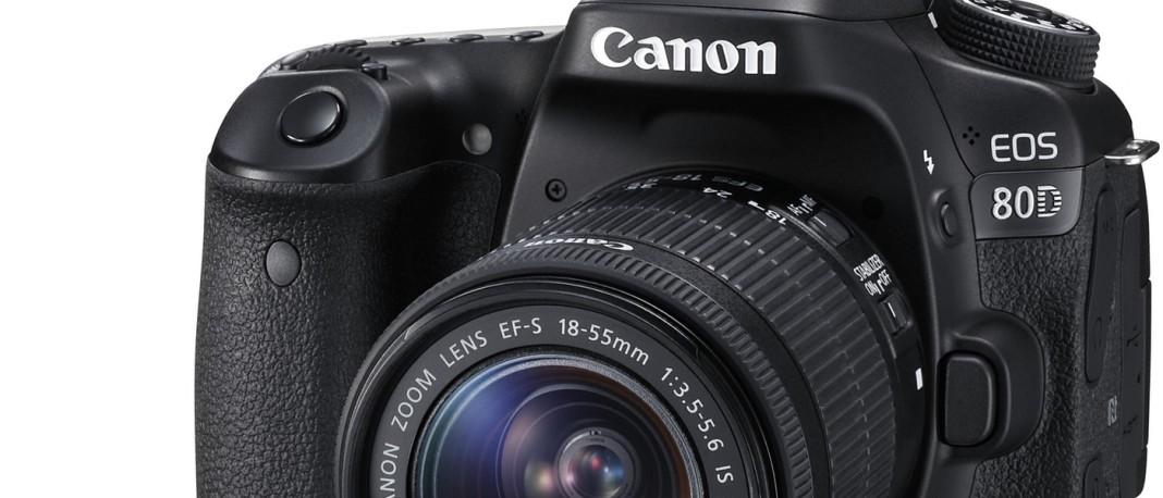 Canon 80D Portada
