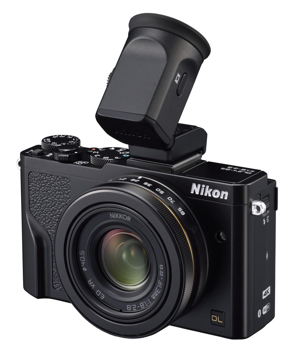 Nikon DL 24-85 Visor Electronico