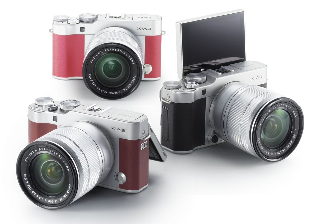 Fujifilm X-A3 Colores