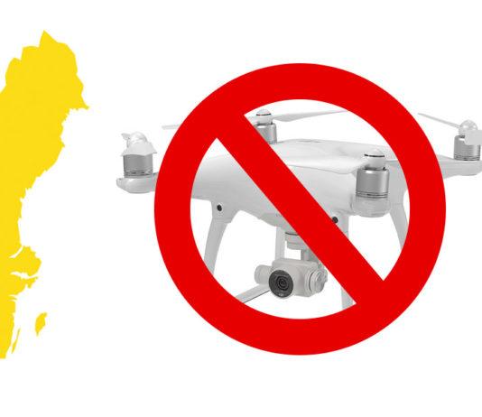 Suecia prohibe los drones con cámara