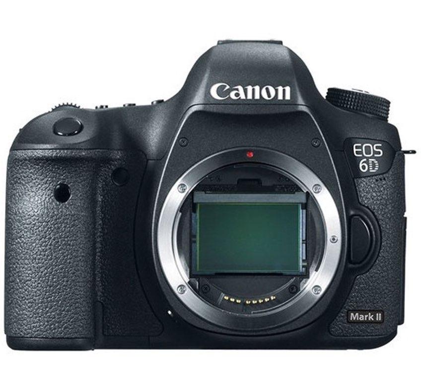 Canon 6D Mark II Frontal