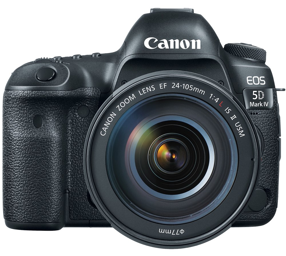 Canon 5D Mark IV Frontal