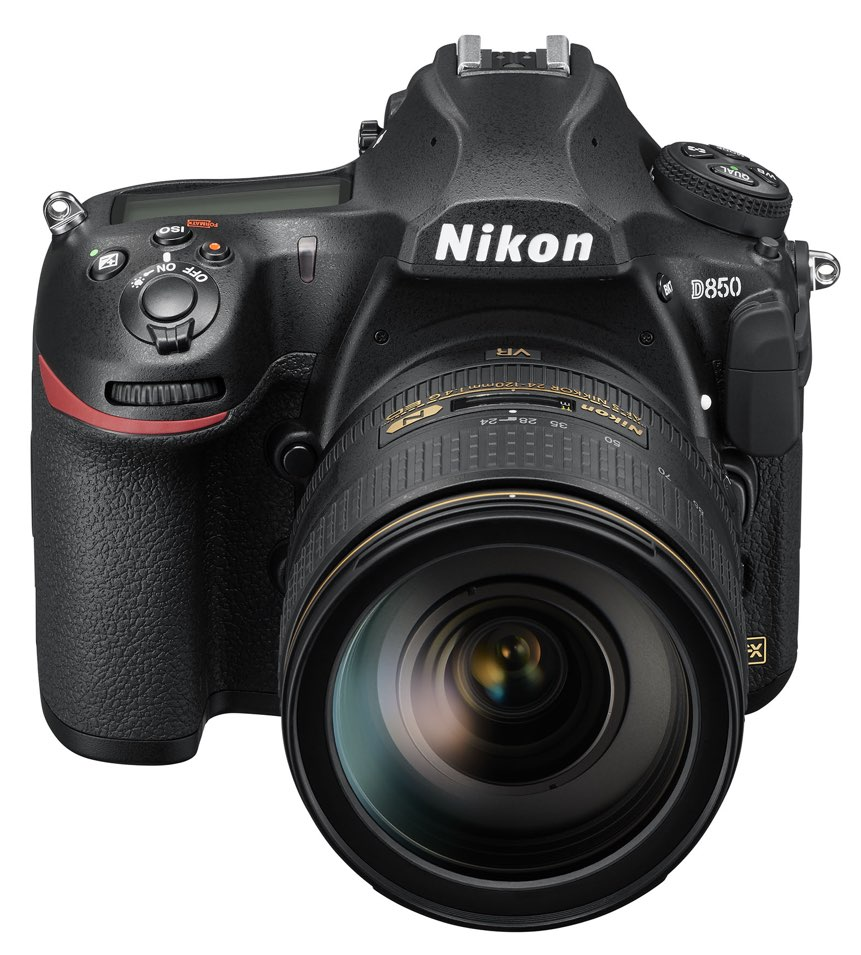 Nikon D850 Frontal Superior