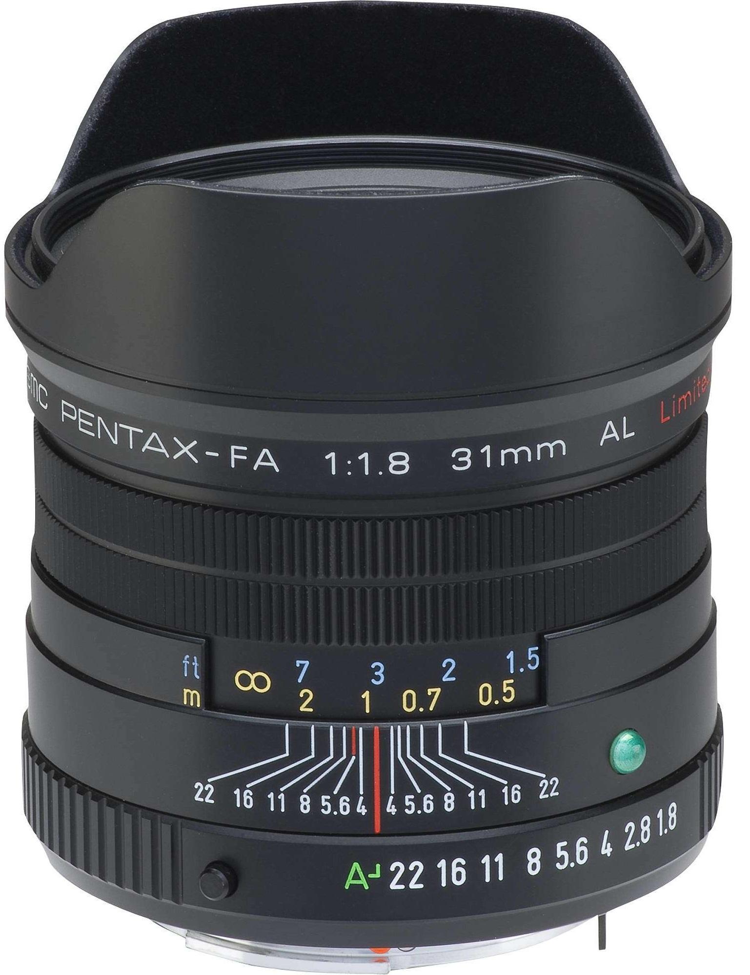 Pentax SMC FA 31mm
